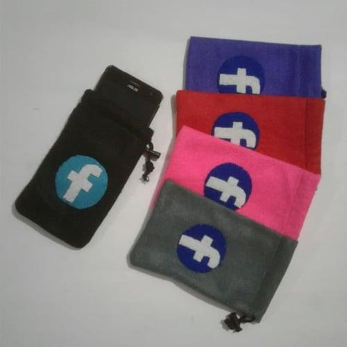 Sarung Tempat Kantong Casing HP Handphone Asus Samsung Xiaomi Medsos Facebook