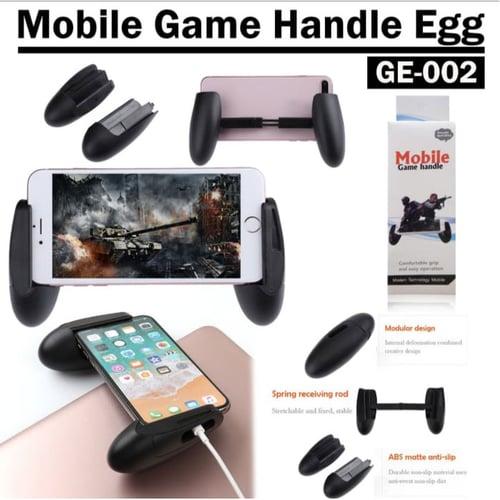 Gamepad GE-002 Joystick Telur Mobile Portable Hitam