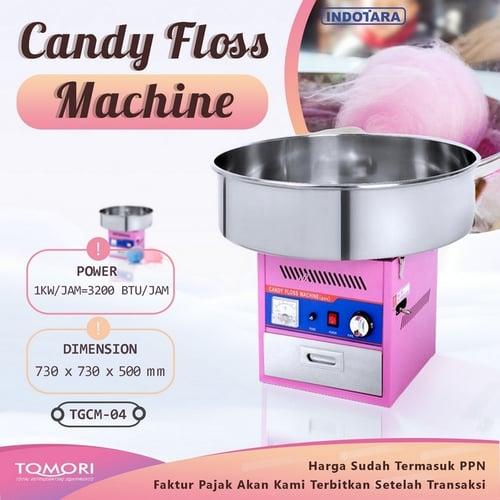 Mesin Gulali / Candy Floss Tomori TGCM-04