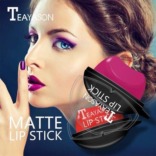 Teayason Lazy Lipstick Tahan Lama Tahan Air Malas Krim Lip Balm Matte