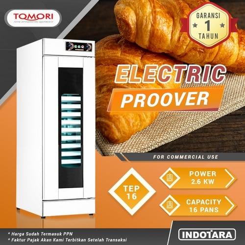Tomori Electric Proover / Alat Pengembang Adonan TEP-16