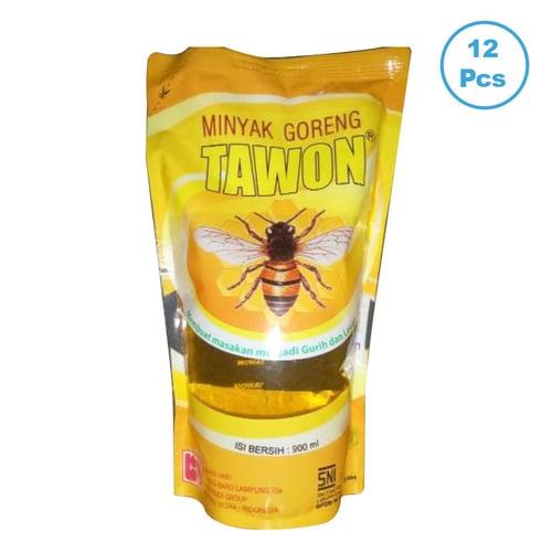 TAWON Minyak Goreng Pouch 12x900ml