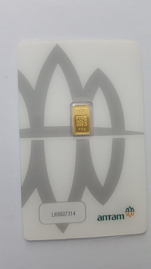 LOGAM MULIA Emas 0,5 Gram