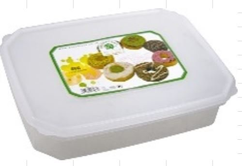Green Leaf Kotak Donat Eva 3,3 Liter