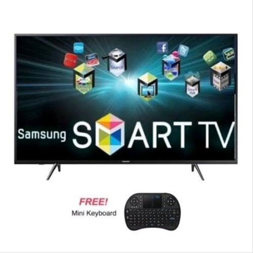 SAMSUNG LED TV 40 Inch Smart Digital 40J5202 + Mini Keyboard