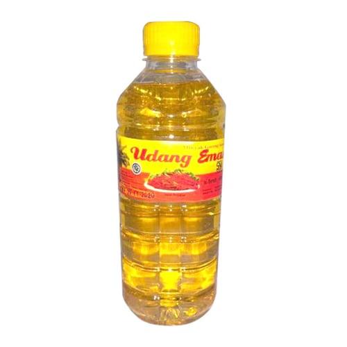 UDANG EMAS Minyak Goreng Botol 500 ml