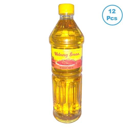 UDANG EMAS Minyak Goreng Botol 900 ml