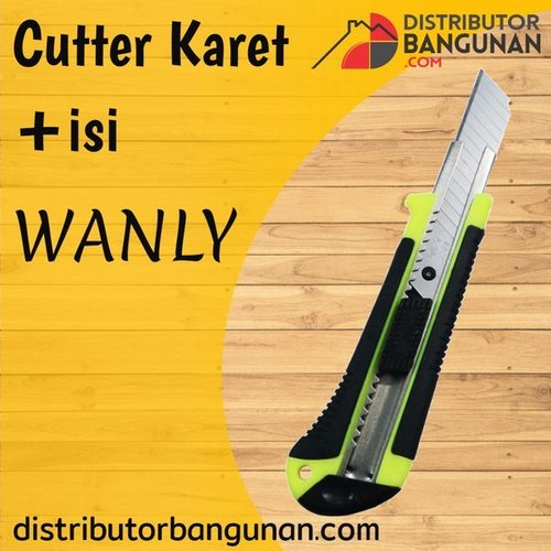Cutter Karet + Isi WANLY