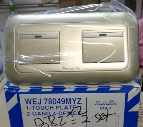 WEJ78049MYZ+5582X2 PLATE WITH SAKLAR PANASONIC