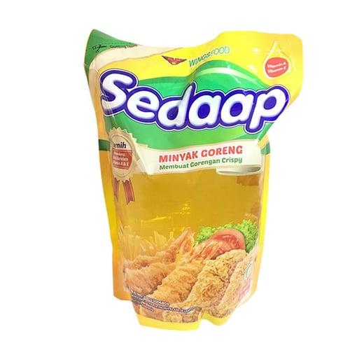 SEDAAP Minyak Goreng Pouch 2L/Karton