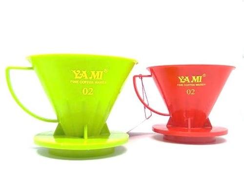 YAMI Plastic Dripper V02 2-4 Cup