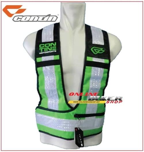 Safety Vest Contin Hijau
