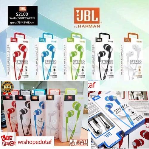 Handsfree HD Earphone JBL Stereo