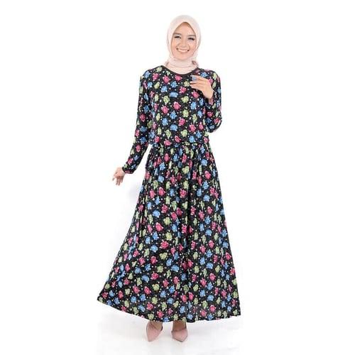 Pakaian Gamis Muslimah Murah Jfashion Long Dress Gamis Maxi corak