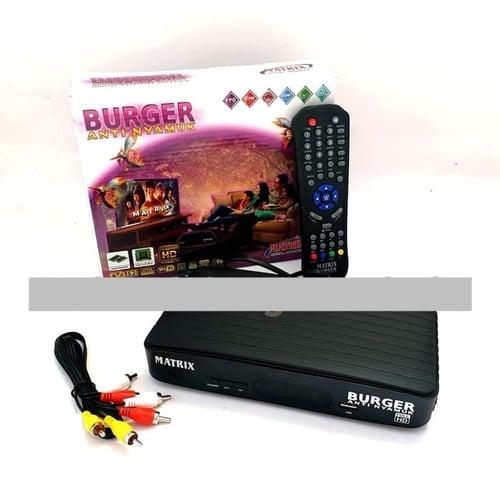 Receiver Matrix Burger HD Anti Nyamuk DVB
