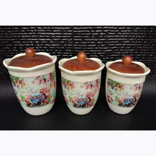 Toples Kue Keramik Vintage