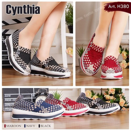 Sepatu Rajut Cynthia H380