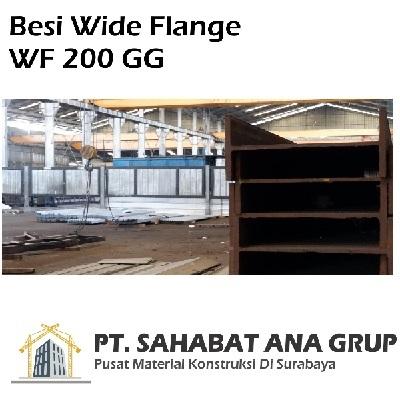 Besi Wide Flange WF 200 GG