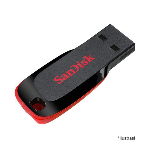 Sandisk USB Cruzer Blade Flasdisk 16 GB