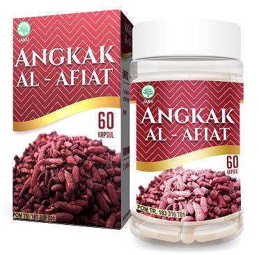 Kapsul Angkak (Ekstrak Beras Merah) Obat Herbal DBD Al Afiat