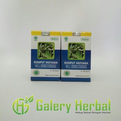 Kapsul Rumput Mutiara Herbal Indo Utama