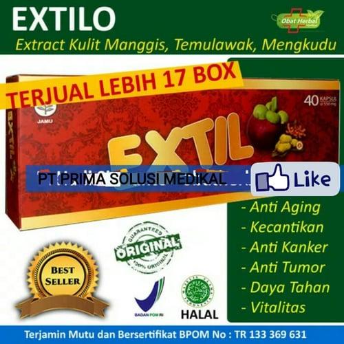 Obat Herbal Antidiabetes, Meningkatkan kekebalan tubuh - Extilo isi 40 kapsul - Ekstrak Kulit Manggis
