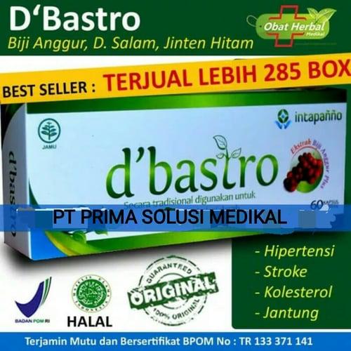 Obat Herbal Kolesterol, Darah Tinggi, Hipertensi - Dbastro isi 60 kapsul