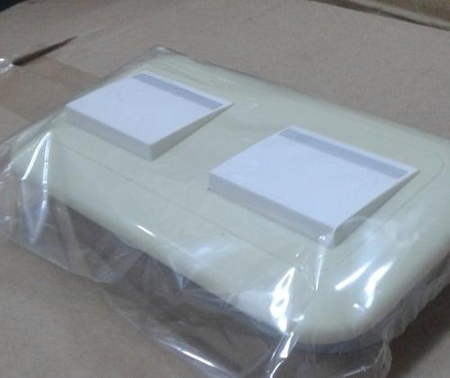 WEJ78049F+5542X2 PLATE WITH SAKLAR PANASONIC