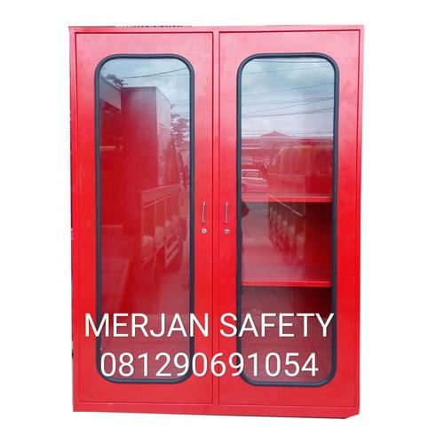 LEMARI SAFETY FIRE CABINET TEMPAT PERLENGKAPAN PEMADAM KEBAKARAN API
