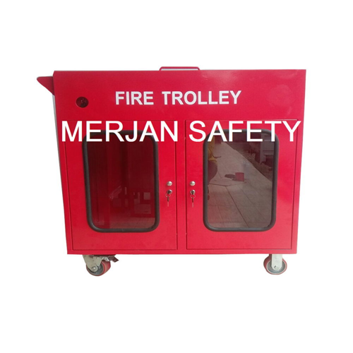 FIRE TROLLEY SAFETY TEMPAT PERLENGKAPAN PEMADAM KEBAKARAN API HARGA MURAH