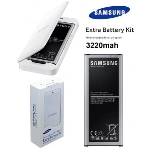 Samsung Baterai Kit Original Galaxy Note4 Batre Battery Desktop Note 4