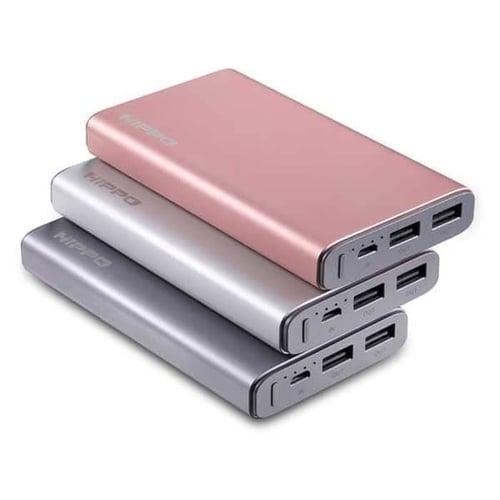 Powerbank Hippo Power Bank 12000MAH Steel Simple Pack
