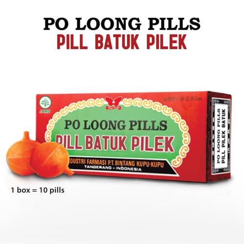 Po Loong Pills Pil Herbal Batuk Pilek Sakit Kepala Masuk Angin