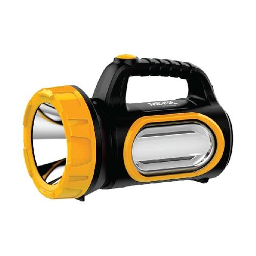 Meval LED Senter 3W Hi-Power + 10 Bright LED - Putih