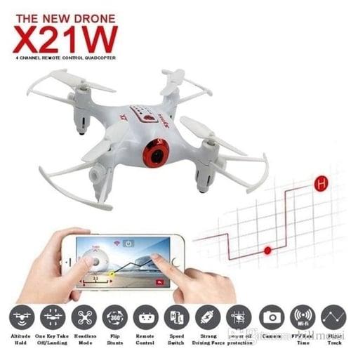 Syma X21-W WIFI FPV 720P HD Camera Mini Drone Altitude Hold X21W