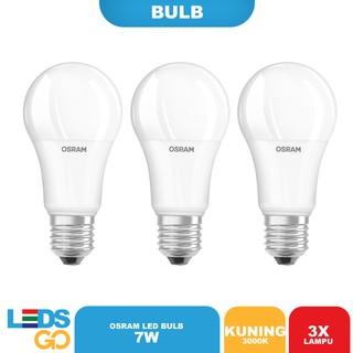 (SPECIAL ISI 3) OSRAM Lampu Bohlam LED 7 Watt Putih