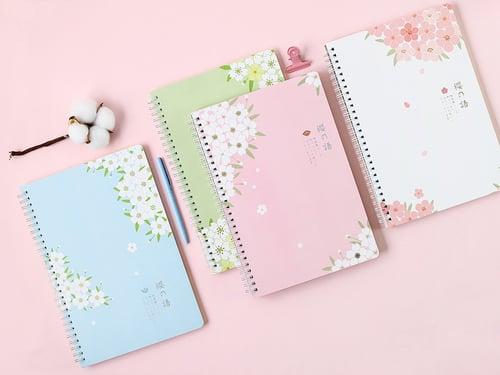 The Language of Sakura Spiral Ruled Notebook B5 / Buku Tulis B5
