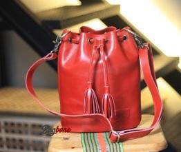 Aloha Bucket Bag on Red