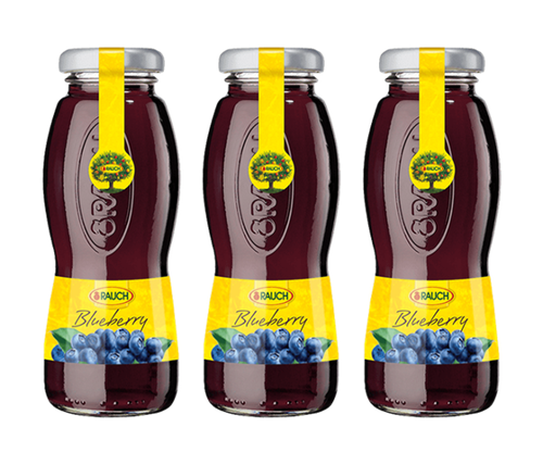 RAUCH Blueberry Juice 200 ML (12 Pcs)