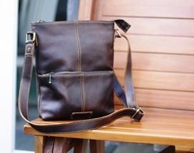 Cantona Sling Bag on Darkbrown