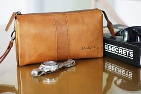 Platine Pouch on Camel