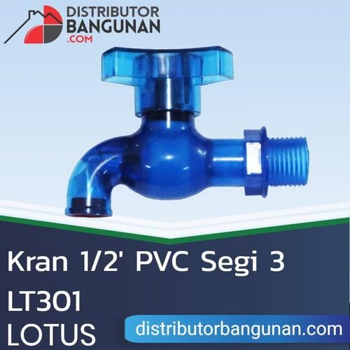Kran 1/2 Pvc Segi 3 LT301 LOTUS