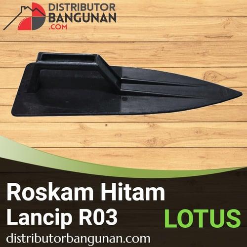Roskam Hitam Lancip R03 LOTUS