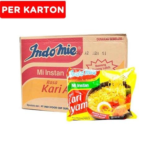INDOMIE Kari Ayam 40 Pcs/ctn