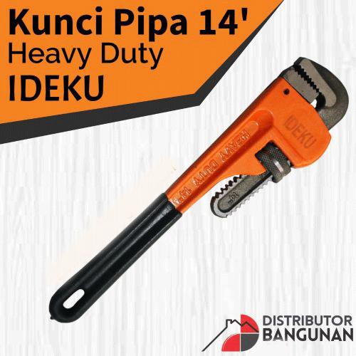 IDEKU Kunci Pipa Heavy Duty 14 Inch