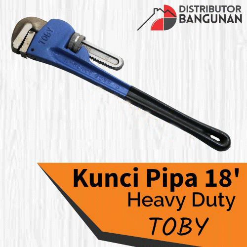 TOBY Kunci Pipa Heavy Duty 18 Inch