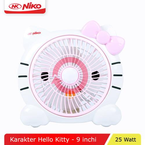 NIKO Kipas Angin Meja Hello Kitty 9 Inch