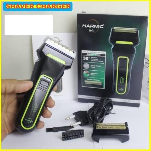 HARNIC HELES HL-0-1 Shaver Alat Cukur Kumis dan Janggut