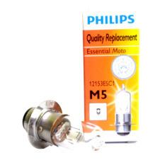Philips Lampu Bohlam Depan Halogen 12V 35W M5 PR Kaki 1 - Aksesoris Motor - Variasi Motor - PROMO ONLINE