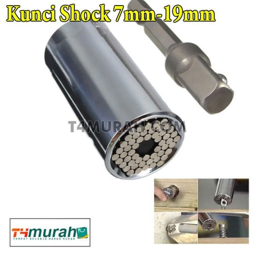 Kunci Shock 7mm-19mm Gator Grip Multifungsi